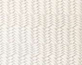 CREAM Braided Genuine Leather 12x12 quot sheet, Leather Fabric, Wholesale leather, Leather for Earrings, Purses, shoes, accessories, Cowhide