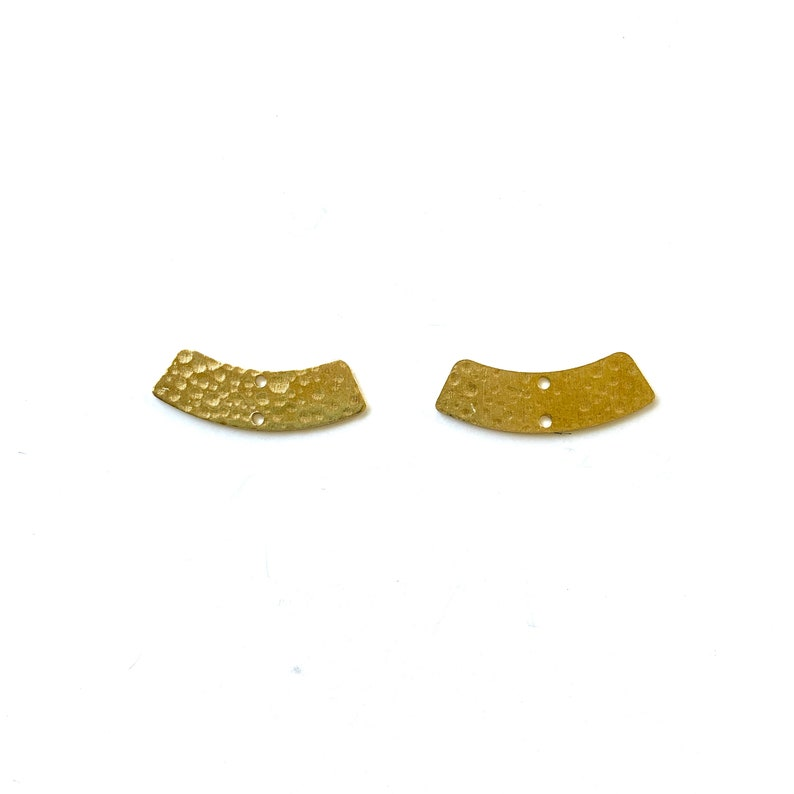 NEW DIY Earring Pieces Raw Brass Tall /& Skinny Arch Connector Pendants 3 Hole Wholesale Brass Gold Connector Rainbows Earring Blanks
