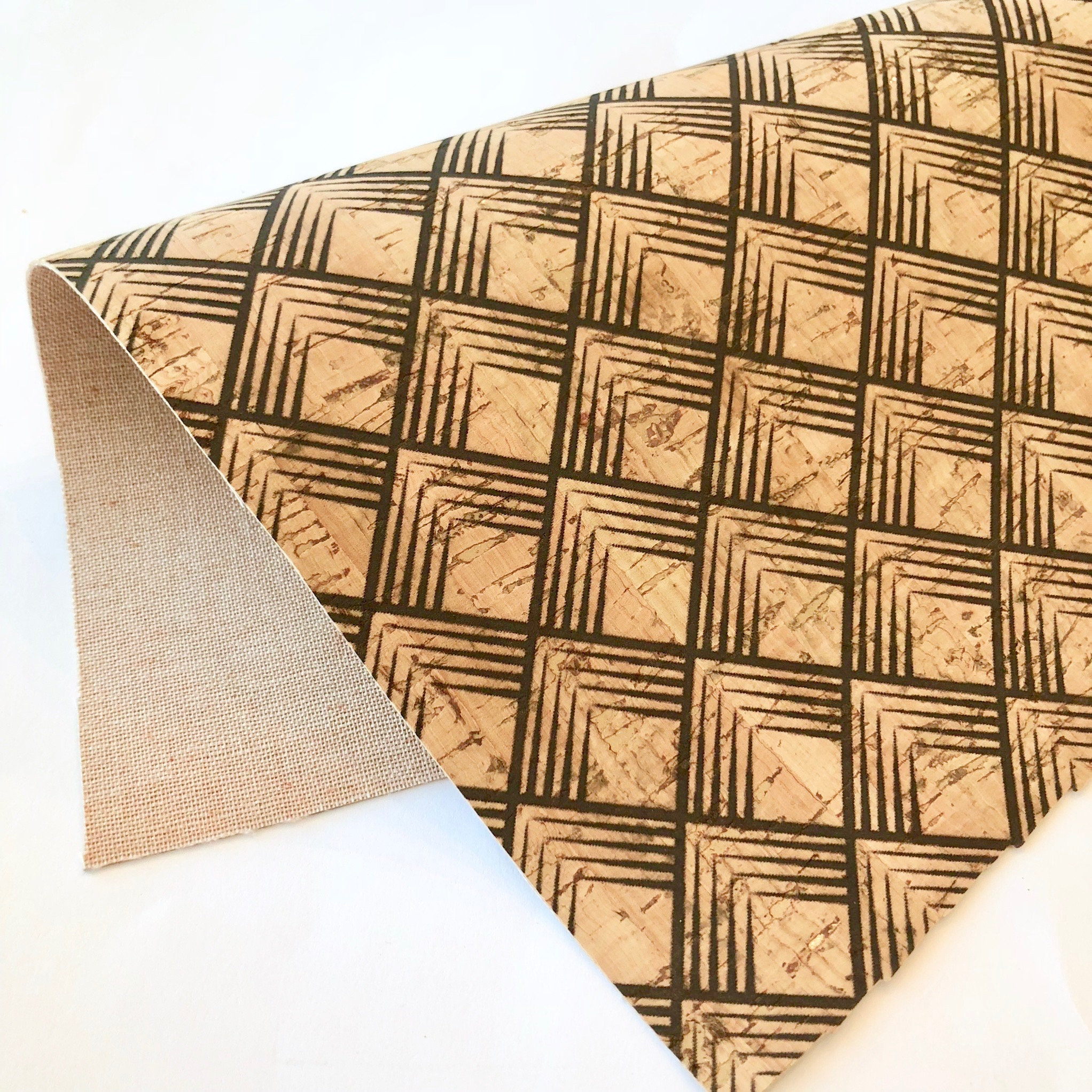 Shoes All Natural Purses Eco Friendly Leather Alternative SOLID BLACK Cork Fabric 12x12 sheet for DIY Earrings Hair Bows Crafts