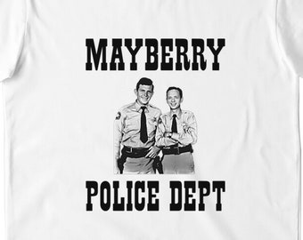 1b5e678b Andy Griffith Show Shirt Mayberry Police Department T Shirt