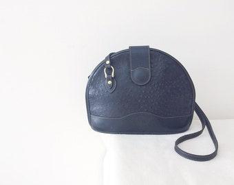 Vintage Leather Bag Crossbody Bag Shoulder Bag Convertible Bag Handbag