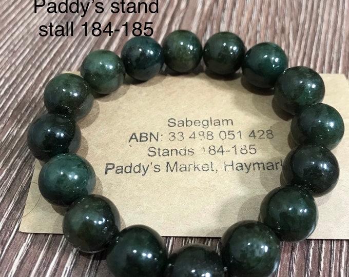 Natural Jade Bracelet 100% vintage