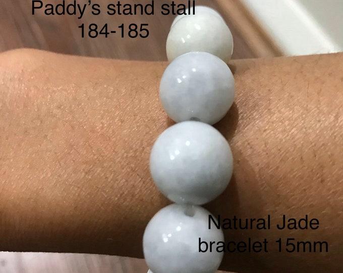 Natural Jade bracelet 100% vintage not treated