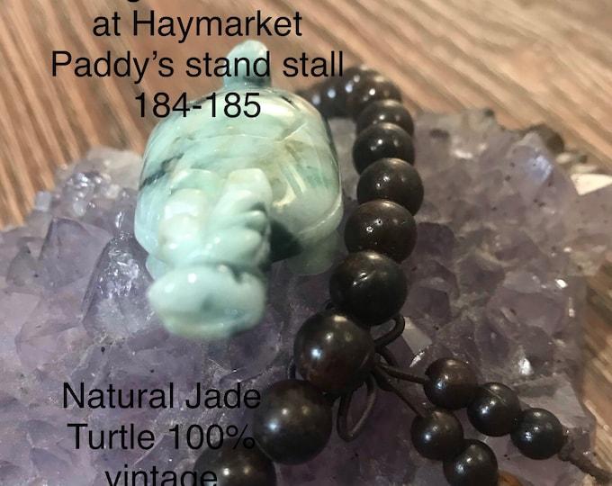 Natural Jade pendant turtles or Ornament