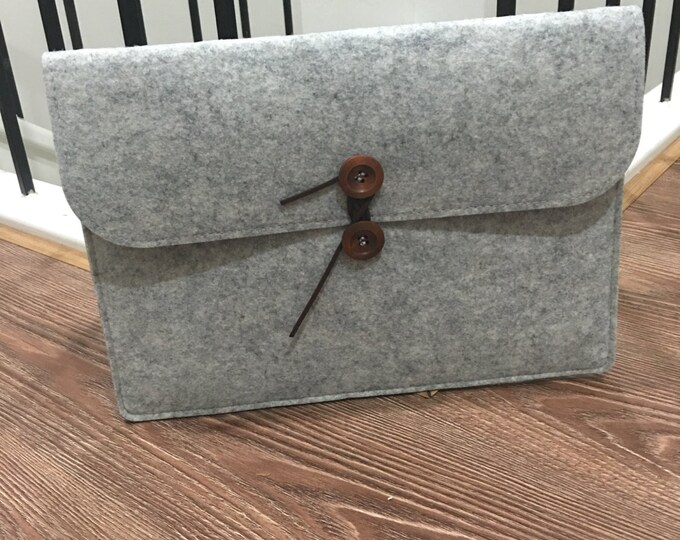 Wool felt notebook sleeve case