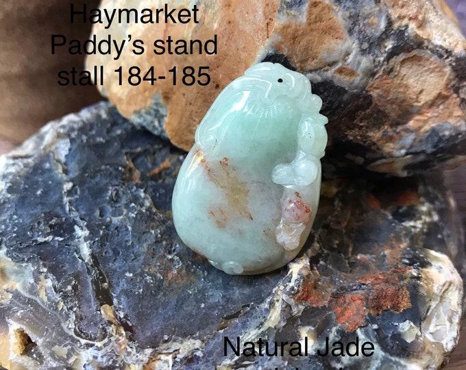 Natural Jade Calabash 100% vintage