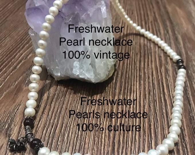Freshwater Pearl necklace 100%culture