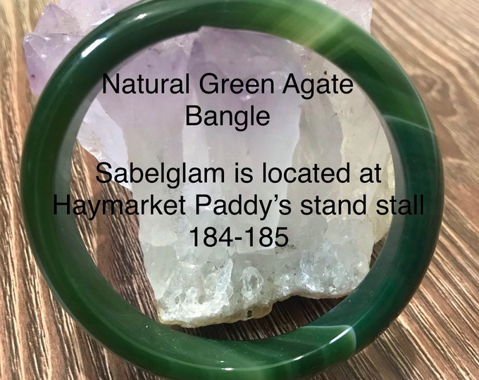 Natural Bangle Agate comes in different colours