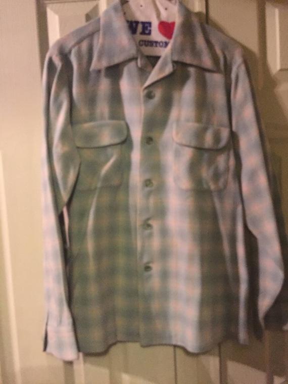 Pendleton wool shirt circa 1945 - shadow plain bab