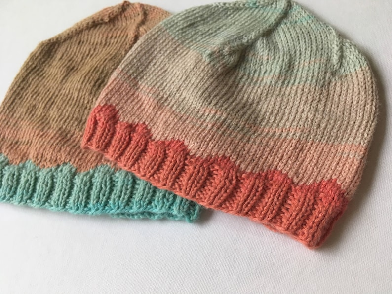 ed88cfede31 KNITTING PATTERN Just Keep Swimming NICU Baby Hat Preemie