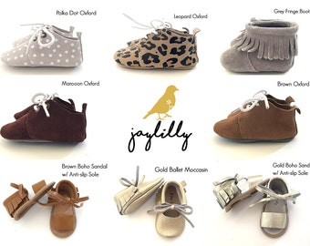 4165803ad4fb58 CHOOSE TWO Baby Moccasins
