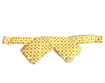 Modern bow tie - mustard - bow tie man or woman