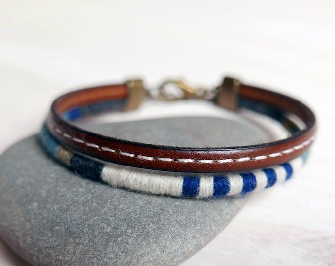 Men's LEATHER bracelets