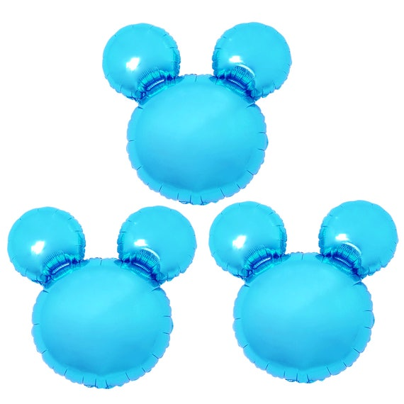 3x Birthday Party Blue Mickey Mouse Baby Shower Decorations Etsy