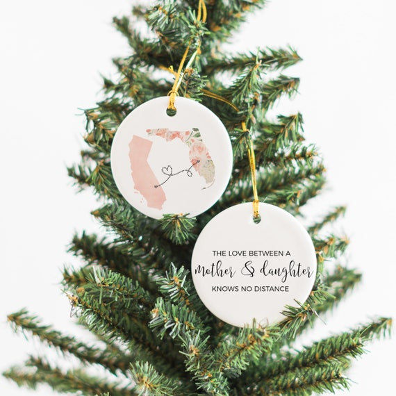 Christmas Gifts For Mom From Daughter.For Mom From Daughter Christmas Gifts For Mom Moving Away Gift Mom Long Distance Gift Mom Gift Mother Daughter Long Distance Ornament