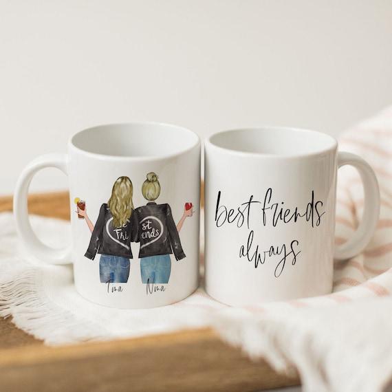 Best Friends Forever Mug Long Distance Mug Best Friends Mug Best Friend Gift Bff