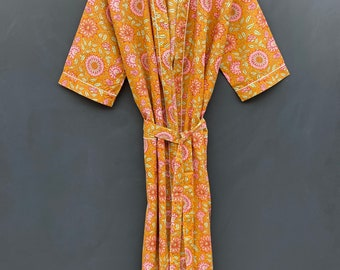EXPRESS SHIPPING Indian floral Print Dress Block Print Patchwork ...