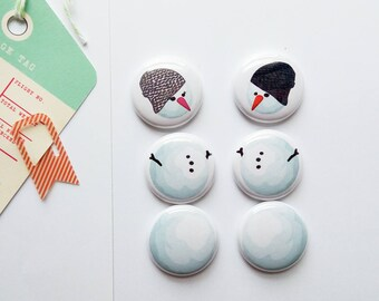 Mr & Mrs Snowman - Mini Flair Set