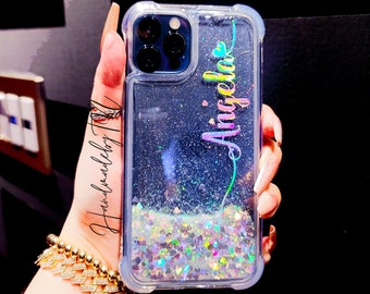 Glitter iPhone 12 Pro Max case iPhone 11 Pro Max case iPhone 11 Pro case iPhone 11 case iPhone 8 case iPhone XR case S21