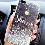 Diamond Dust Glitter iPhone 7 case iPhone 7 Plus case iPhone 6S case iPhone 6S Plus case iPhone 6 case iPhone 6 Plus case Phone case gift