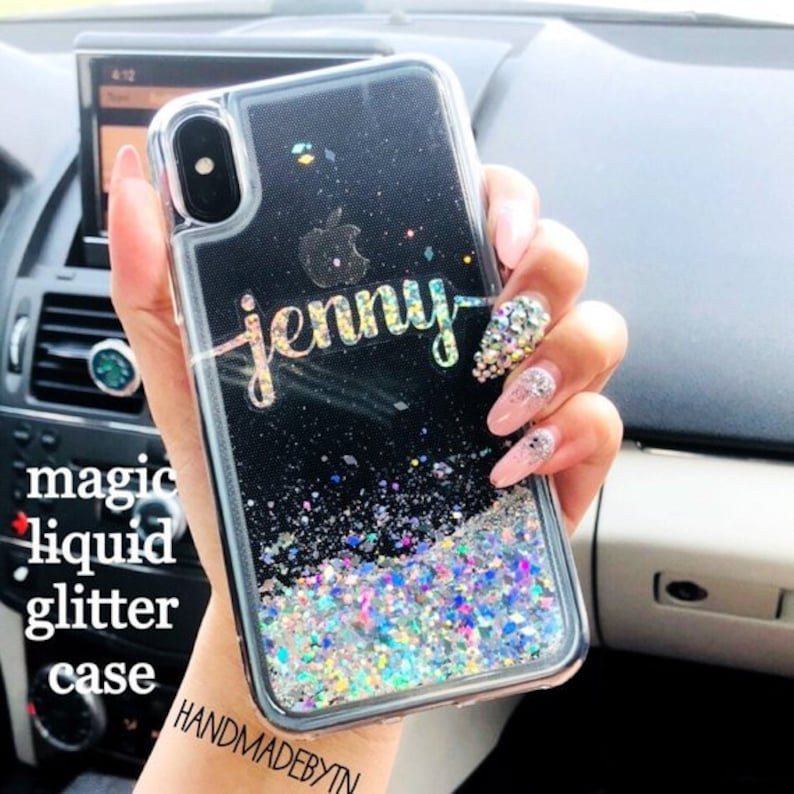 in stock d6bf0 250bd Liquid Glitter iPod case iPod Touch 6 Case iPod Case iPod Touch 5 case  Phone case iPod touch 7 case, Gift for friend graduation gift