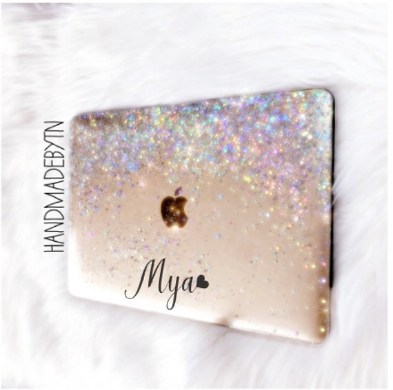 premium selection 009d1 ab00b Silver Glitter Macbook Case Macbook Pro 13 case Macbook Air 13 case Macbook  11 case Macbook Pro case Macbook air case Macbook 12 case