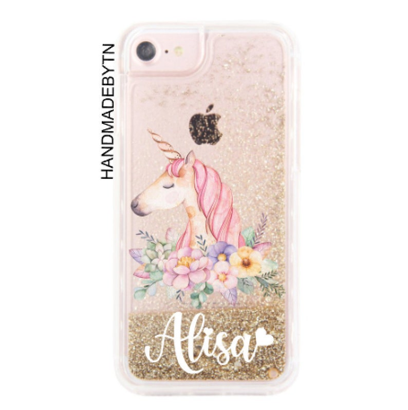 online store e20a3 77859 Glitter Unicorn Phone case iPhone 5s case iPhone se case iPhone 6 case  iPhone 6s case iPhone 8 case iPhone 8 Plus case iPhone 7 case