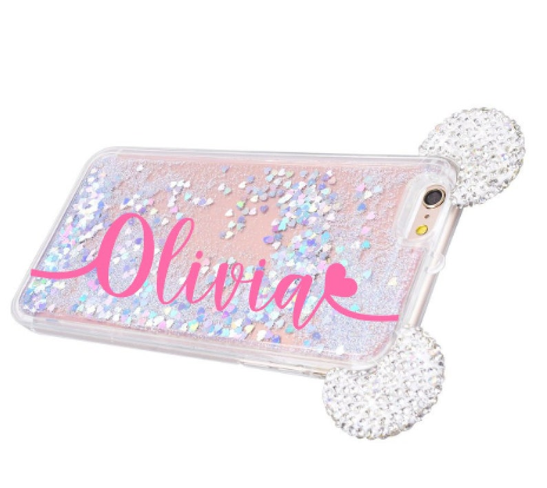 best loved 818b0 80670 Moving Glitter Phone case samsung galaxy s7 case, s8 case, s7 edge case, s8  plus case iPhone xs case iphone x case iphone 8 plus case