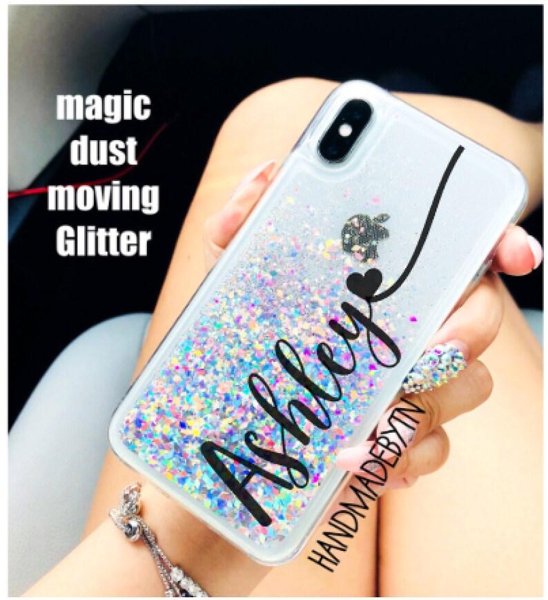 huge selection of bd6f7 9f7d8 Diamond Dust liquid glitter Phone case LG v30 case LG v20 case Lg g7 case  Lg v40 thinq case Lg stylo 4 case Lg phone case iphone x case
