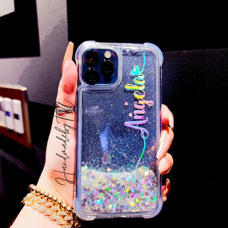 Glitter iPhone 12 Pro Max case iPhone 11 Pro Max case iPhone image 1