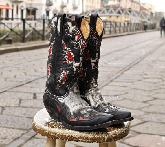 comprando ora aspetto elegante prezzo incredibile Stivali pelle camperos cowboy boots Sendra originali numero 42