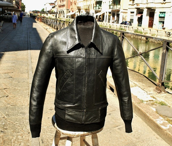 Jacket jacket jacket leather fonzie fonzarelli ori