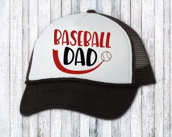 Baseball dad - Dad coach - Funny hat - custom hat - text on hat - birthday  gift for dad - dad gift idea - funny dad hat - dad birthday hat cdf2eff170e