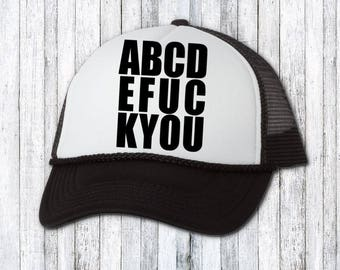 9edce57a412 Funny hat - trucker hat - custom hat - text on hat - birthday gift for her  - funny hat for her - womens hat - funny gift idea