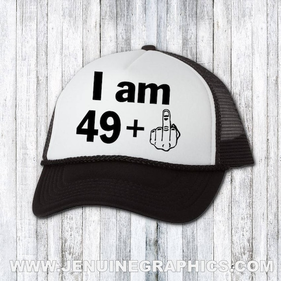 Funny Hat Trucker Custom 50th Birthday Gift
