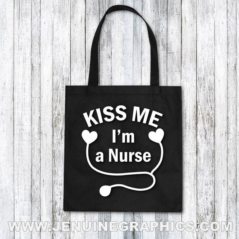 nurse tote bag funny nurse gift nurse thank you gift present for nurse nurse birthday gift Nurse gift idea cute nurse gift