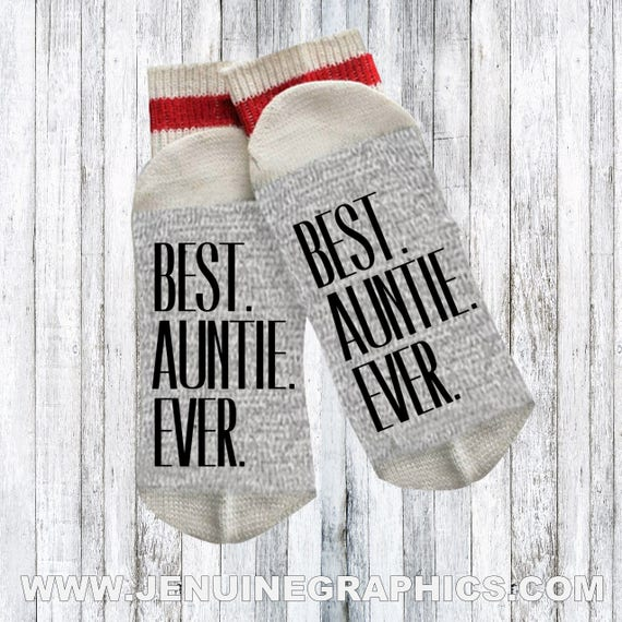 coupon codes reliable quality cheap for discount Funny socks - Novelty Socks - Words on socks - funny gift idea - text on  socks - custom socks - auntie socks - aunti present