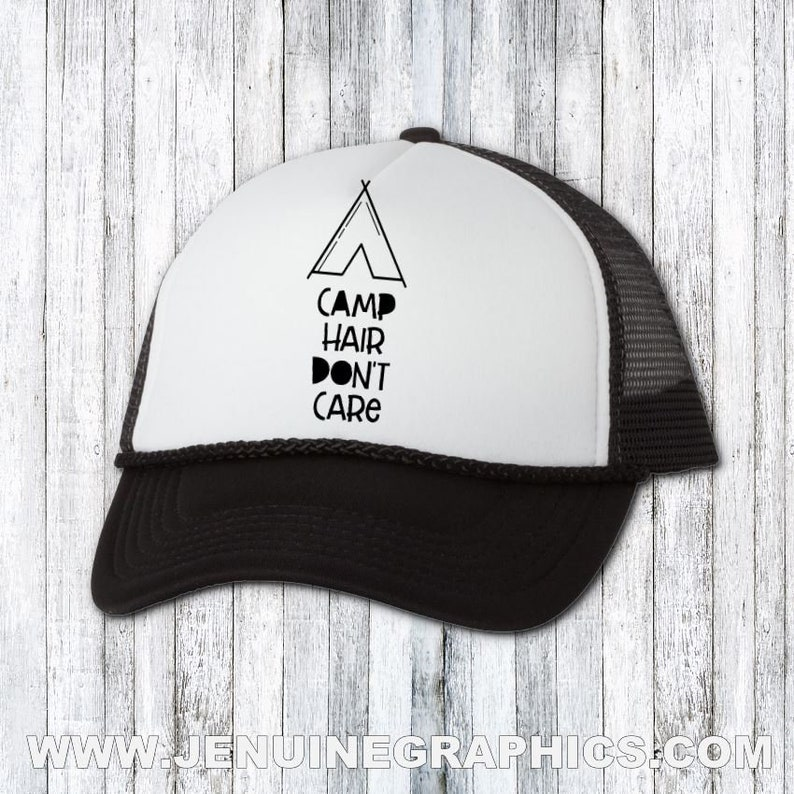 7ff89ef7a3da0 Camping hat Funny hat trucker hat gift for camping