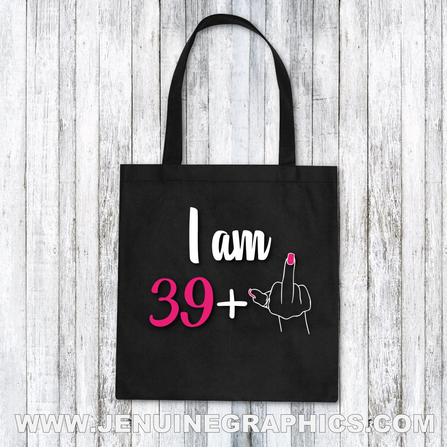 Tote Bag 40th Birthday Funny Tote Bag Funny Gift