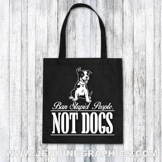 Tote Bag Dog Lover Gift Idea Birthday