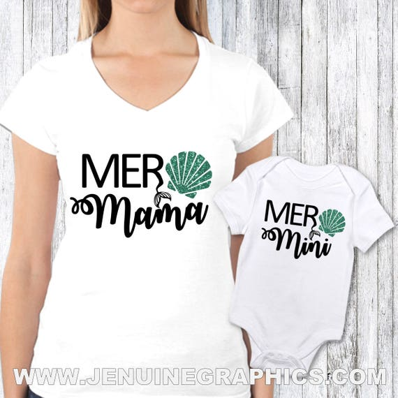 Birthday Gift For Mom And Baby Shirt