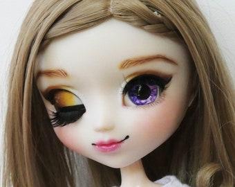 12mm Pullip eyechips- Ultra Violet