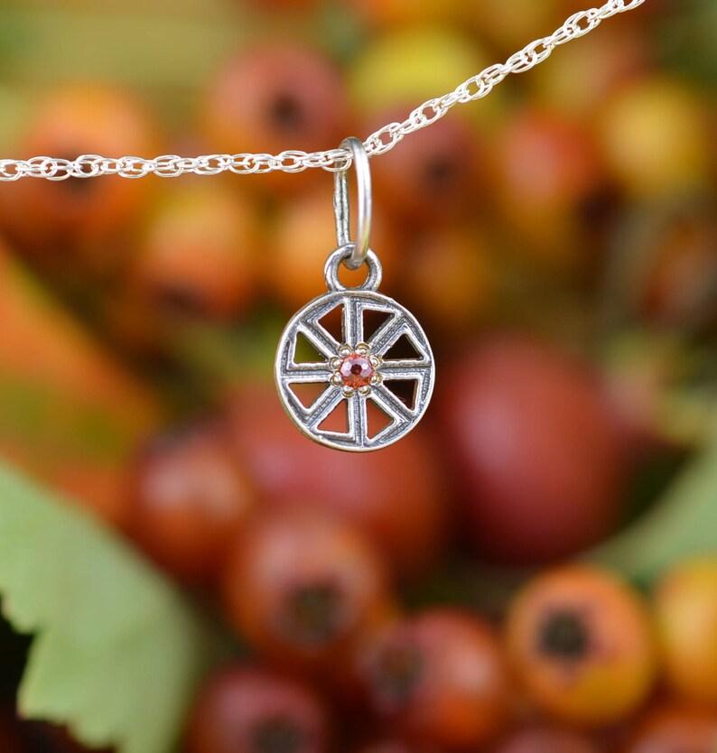 SMALL Kolovrat  Handmade pendant  Slavic amulet  Pagan  Solar Slavic Wheel   Nordic amulet  Viking pendant  Celtic talisman  Sun symbol