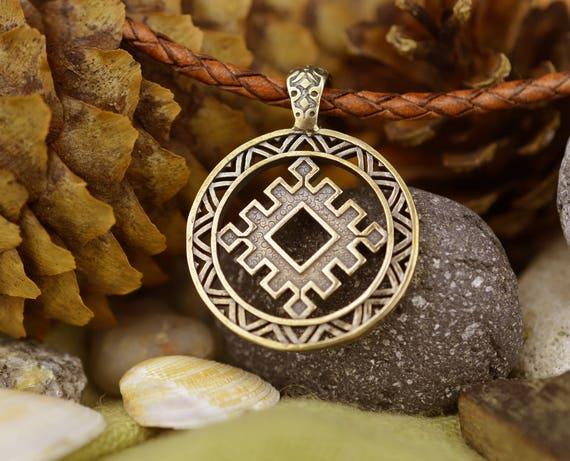 Slavic Amulet Lucky Burdock Handmade Ancient Etsy
