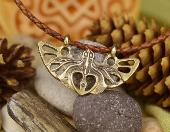 Spirit of the Forest Celtic symbol of the Druids necklace.