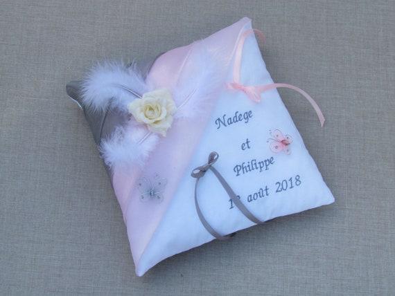 Cushion Pillow Wedding Decoration Dusty Pink Gray Etsy