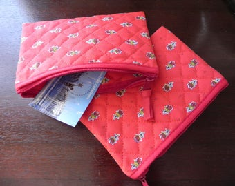 made in PROVENCE red pouch and measuring 11 X 16 CM
