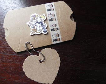 WEDDING COLLECTION: containing sweets or envelope gift for the bride and groom