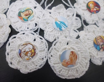 BELIEVE COLLECTION: 13 tags religious theme with a vintage look