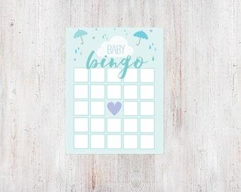 Baby Shower Bingo Game - Shower with Love {Download + Print}